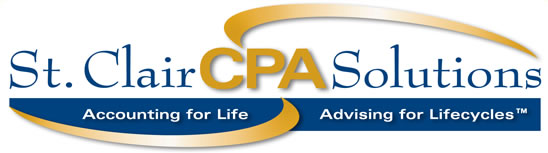 St. Clair CPA Solutions Logo