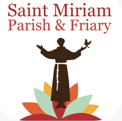 Saint Miriam Parish, Friary and School Logo