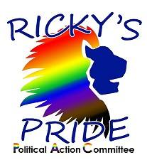 Ricky's Pride Political Action Committee Logo