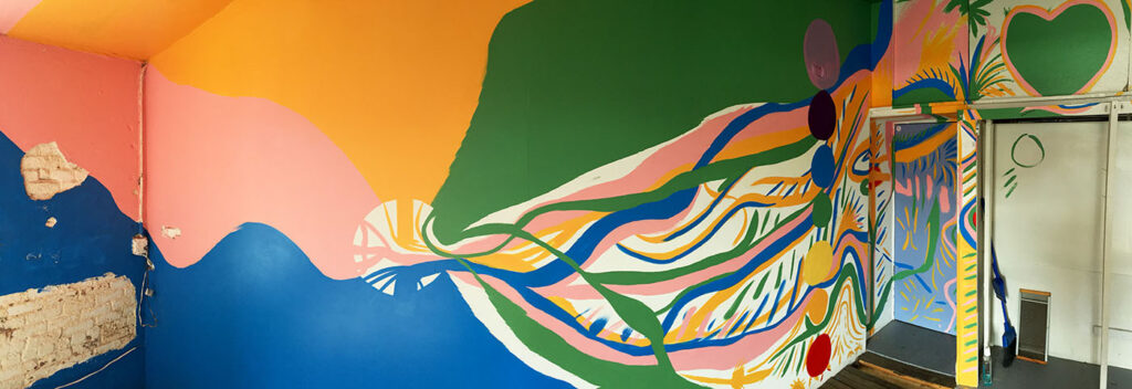 chad lewine energy chamber mural