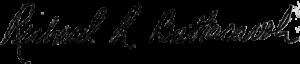 richard Buttacavoli signature